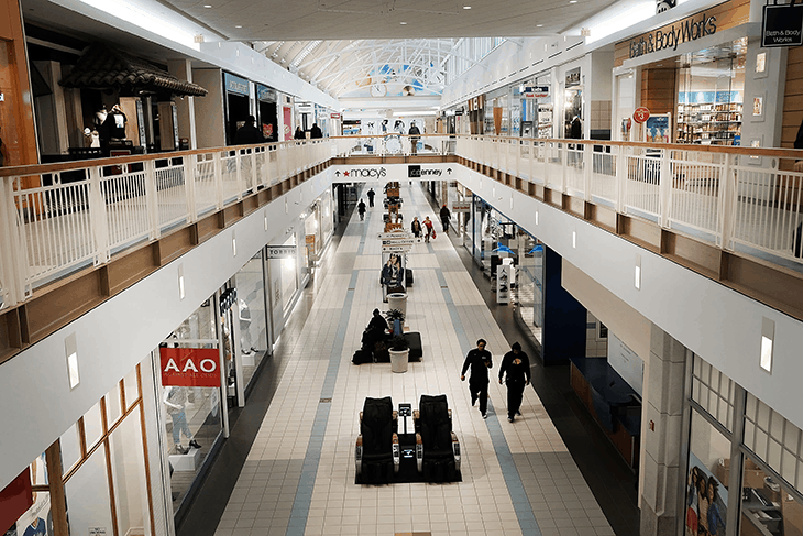 Shopping Centers & Retail Stores Cleaning Services